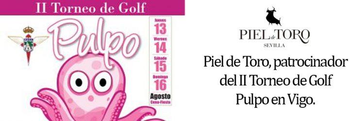 Piel de Toro patrocinador del Torneo de Golf El Pulpo